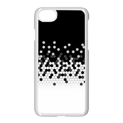 Flat Tech Camouflage Black And White Apple Iphone 7 Seamless Case (white) by jumpercat