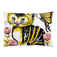 Cat 1348502 1920 Pillow Case (two Sides) by vintage2030