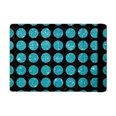 Circles1 Black Marble & Turquoise Glitter (r) Ipad Mini 2 Flip Cases by trendistuff