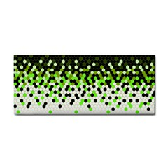 Flat Tech Camouflage Reverse Green Cosmetic Storage Cases by jumpercat