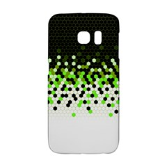 Flat Tech Camouflage Reverse Green Galaxy S6 Edge by jumpercat