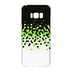 Flat Tech Camouflage Reverse Green Samsung Galaxy S8 Hardshell Case  by jumpercat