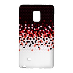 Flat Tech Camouflage Reverse Red Galaxy Note Edge by jumpercat