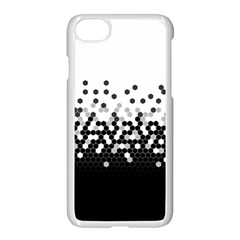 Flat Tech Camouflage White And Black Apple Iphone 7 Seamless Case (white) by jumpercat