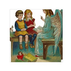 Angel 1347118 1920 Small Satin Scarf (square) by vintage2030