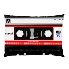 Compact Cassette Pillow Case by vintage2030