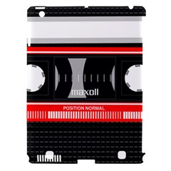 Compact Cassette Apple Ipad 3/4 Hardshell Case (compatible With Smart Cover) by vintage2030