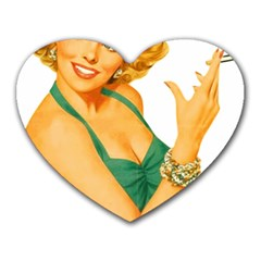 Woman 792872 1920 Heart Mousepads by vintage2030