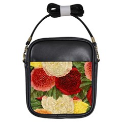 Flowers 1776429 1920 Girls Sling Bags by vintage2030
