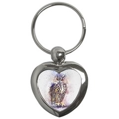 Bird 2552769 1920 Key Chains (heart)  by vintage2030