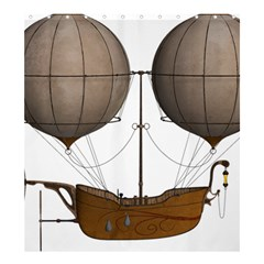 Air Ship 1300078 1280 Shower Curtain 66  X 72  (large)  by vintage2030