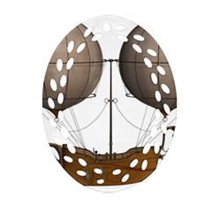 Air Ship 1300078 1280 Oval Filigree Ornament (two Sides) by vintage2030