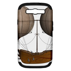 Air Ship 1300078 1280 Samsung Galaxy S Iii Hardshell Case (pc+silicone) by vintage2030
