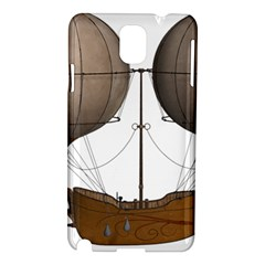 Air Ship 1300078 1280 Samsung Galaxy Note 3 N9005 Hardshell Case by vintage2030