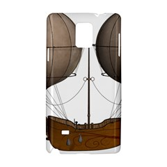 Air Ship 1300078 1280 Samsung Galaxy Note 4 Hardshell Case by vintage2030