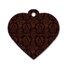 Leather 1568432 1920 Dog Tag Heart (one Side) by vintage2030