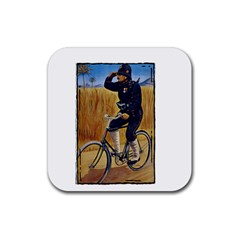 Policeman 1763380 1280 Rubber Coaster (square)  by vintage2030