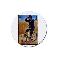 Policeman 1763380 1280 Rubber Coaster (round)  by vintage2030