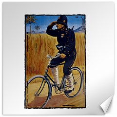 Policeman 1763380 1280 Canvas 12  X 12   by vintage2030