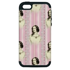 Victorian 1568436 1920 Apple Iphone 5 Hardshell Case (pc+silicone) by vintage2030