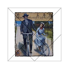 Bicycle 1763283 1280 Acrylic Tangram Puzzle (6  X 6 ) by vintage2030