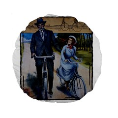 Bicycle 1763283 1280 Standard 15  Premium Round Cushions by vintage2030