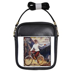 Bicycle 1763235 1280 Girls Sling Bags by vintage2030