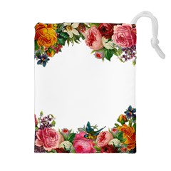 Flower 1770191 1920 Drawstring Pouches (extra Large) by vintage2030