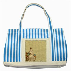 Background 1775324 1920 Striped Blue Tote Bag by vintage2030