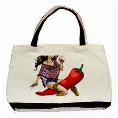 Quente Basic Tote Bag by belezabrazuca70
