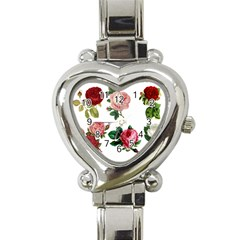 Roses 1770165 1920 Heart Italian Charm Watch by vintage2030