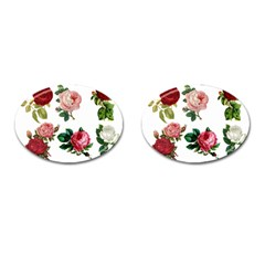 Roses 1770165 1920 Cufflinks (oval) by vintage2030