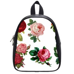 Roses 1770165 1920 School Bag (small) by vintage2030