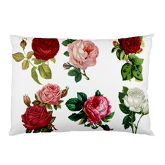 Roses 1770165 1920 Pillow Case (two Sides) by vintage2030