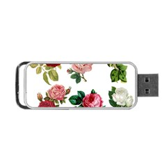 Roses 1770165 1920 Portable Usb Flash (two Sides) by vintage2030