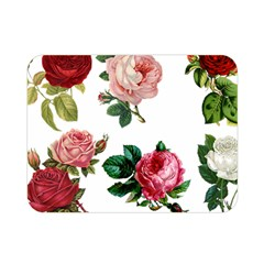 Roses 1770165 1920 Double Sided Flano Blanket (mini)  by vintage2030