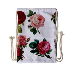Roses 1770165 1920 Drawstring Bag (small) by vintage2030