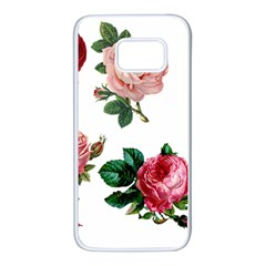 Roses 1770165 1920 Samsung Galaxy S7 White Seamless Case by vintage2030