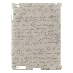 Handwritten Letter 2 Apple Ipad 3/4 Hardshell Case (compatible With Smart Cover) by vintage2030