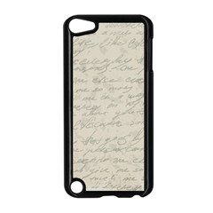 Handwritten Letter 2 Apple Ipod Touch 5 Case (black) by vintage2030