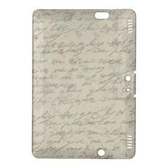 Handwritten Letter 2 Kindle Fire Hdx 8 9  Hardshell Case by vintage2030