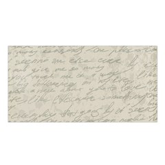Handwritten Letter 2 Satin Shawl by vintage2030