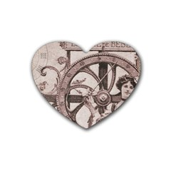 Lottery Heart Coaster (4 Pack)  by vintage2030