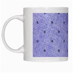 Dot Blue White Mugs by vintage2030