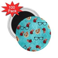 Vintage Glasses 2 25  Magnets (100 Pack)  by vintage2030