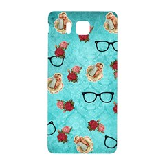Vintage Glasses Samsung Galaxy Alpha Hardshell Back Case by vintage2030