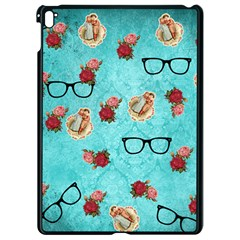 Vintage Glasses Apple Ipad Pro 9 7   Black Seamless Case by vintage2030