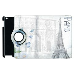 French 1047909 1280 Apple Ipad 3/4 Flip 360 Case by vintage2030