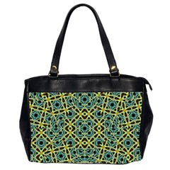 Arabesque Seamless Pattern Office Handbags (2 Sides)  by dflcprints