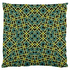Arabesque Seamless Pattern Large Flano Cushion Case (two Sides) by dflcprints